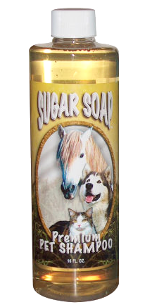 Sugar Soap Pet Shampoo, 1 Pint