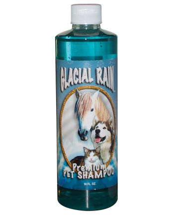 Glacial Rain; Pet Shampoo<br>(Pint bottle)