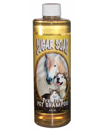Sugar Soap; Pet Shampoo<br>(Pint bottle)